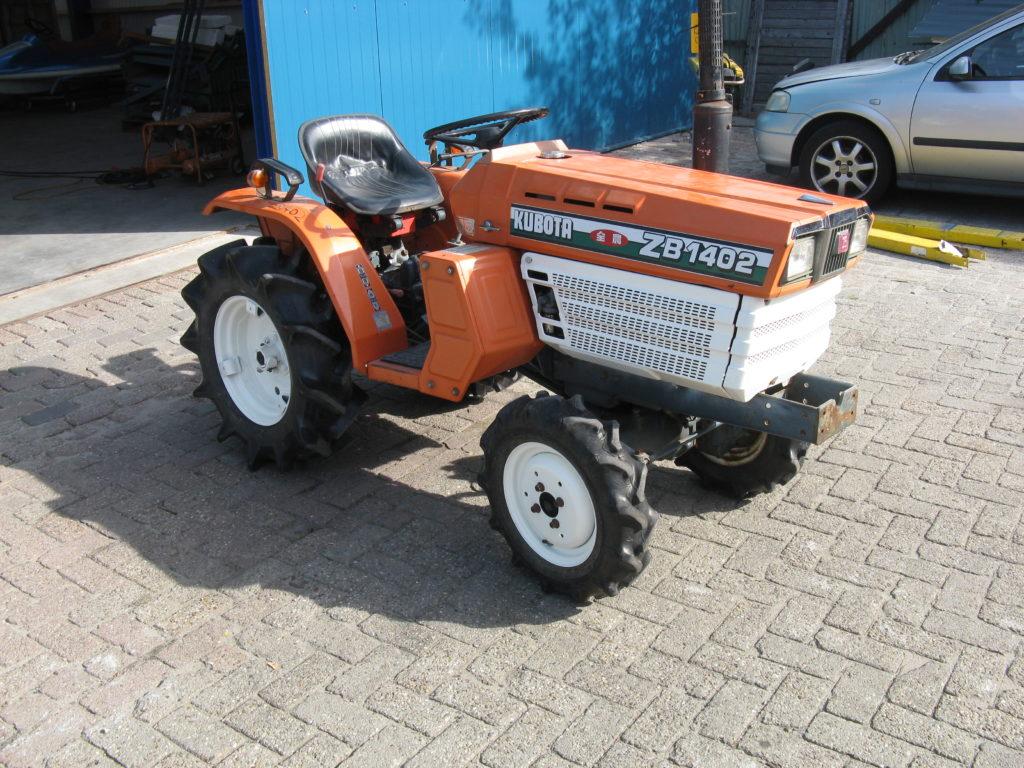 KUBOTA ZB1402 17 PK 4x4 tractor VERKOCHT/SOLD